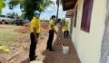 กิจกรรมจิตอาสา ทาสีและช่วยกันทำบ้านให้ผู้ด้อยโอกาสในพื้นที่ หมู่ที่ 4 ตำบลนาทราย